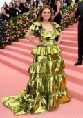Julianne Moore attends The 2019 Met Gala Celebrating Camp: Notes on Fashion in New York City
