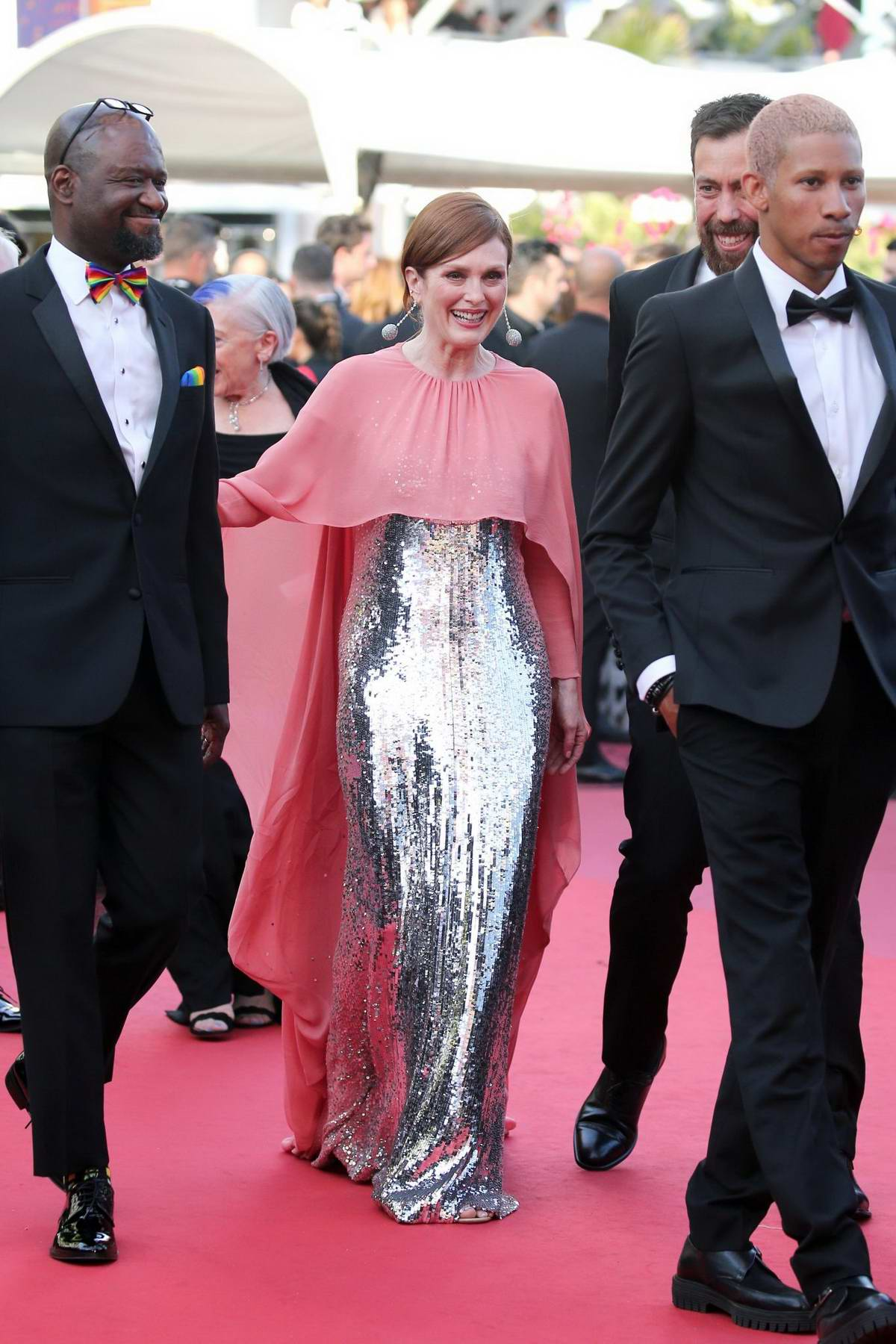 Julianne Moore attends the screening of 'Rocketman' during the 72nd annual Cannes Film Festival in Cannes, France