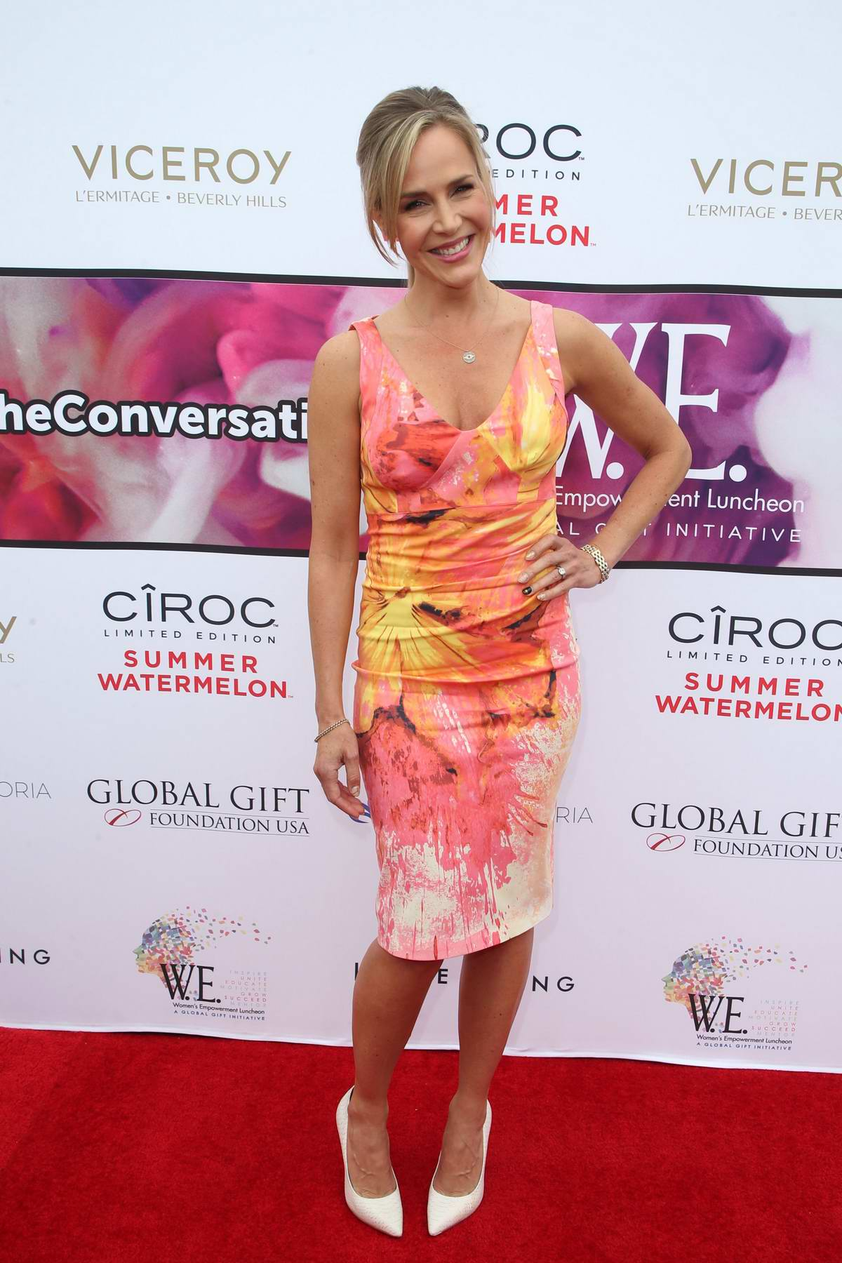 Julie Benz attends Eva Longoria's Global Gift Foundation Women Empowerment Luncheon in Beverly Hills, Los Angeles