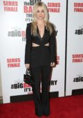 Kaley Cuoco attends 'The Big Bang Theory' series finale party in Pasadena, California