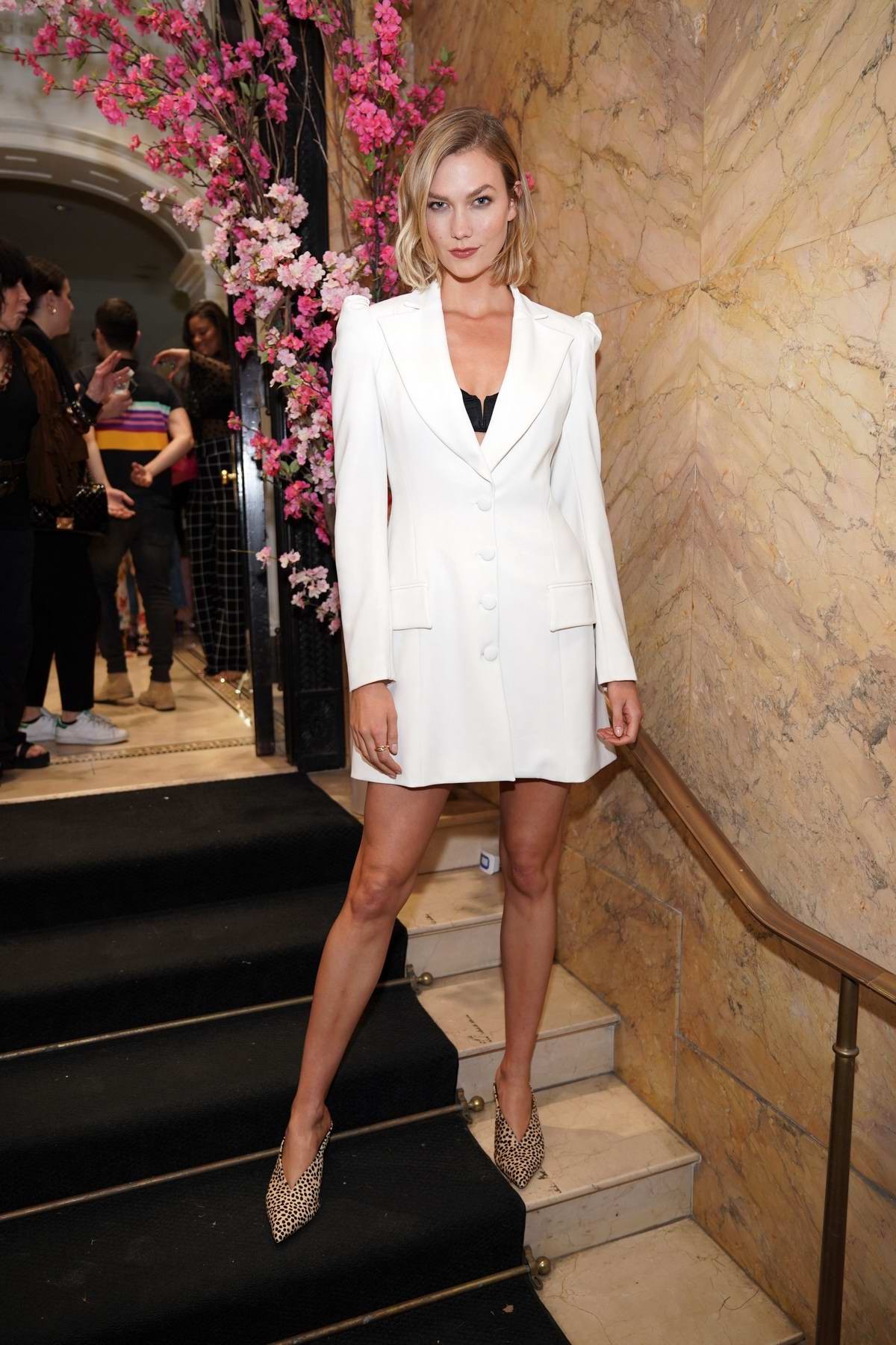 Karlie Kloss attends as Christian Siriano Celebrates The Curated NYC One Year Anniversary in New York City