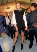 Karlie Kloss attends Louis Vuitton Cruise 2020 Fashion Show at JFK Airport in New York City