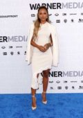 Karrueche Tran attends the WarnerMedia Upfront Presentation in New York City