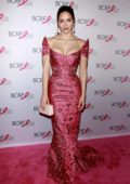 Katharine McPhee attends the Breast Cancer Research Foundation Hot Pink Party in New York City