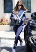 Katherine Schwarzenegger picks up bridal jewelry from Philip Press Master Jewelers in West Hollywood, Los Angeles