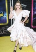 Kathryn Newton attends 'Pokemon Detective Pikachu' film premiere in New York City
