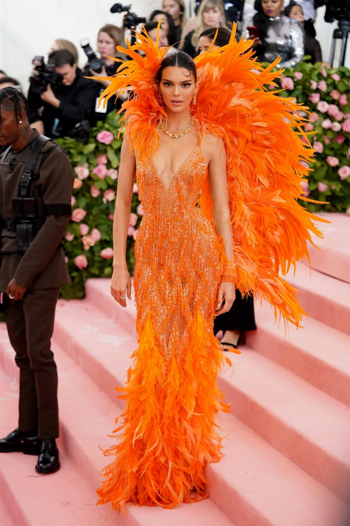 Kendall Jenner attends The 2019 Met Gala Celebrating Camp: Notes on Fashion in New York City