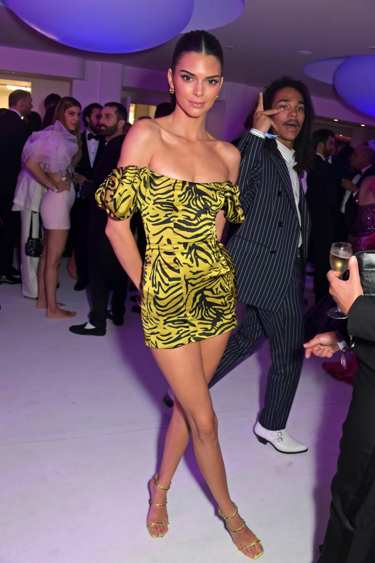 Kendall Jenner attends the amfAR Cannes Gala 2019 after party at Hotel du Cap-Eden-Roc in Cap d'Antibes, France