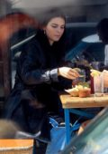 Kendall Jenner grabs tacos with Fai Khadra in Los Angeles