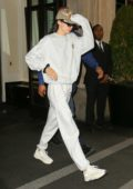 Kendall Jenner keeps it comfy in Sweats as she heads out of the Mark Hotel in New York City