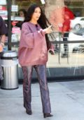 Kim Kardashian and Jonathan Cheban grab a treat together at Menchie's In Calabasas, California
