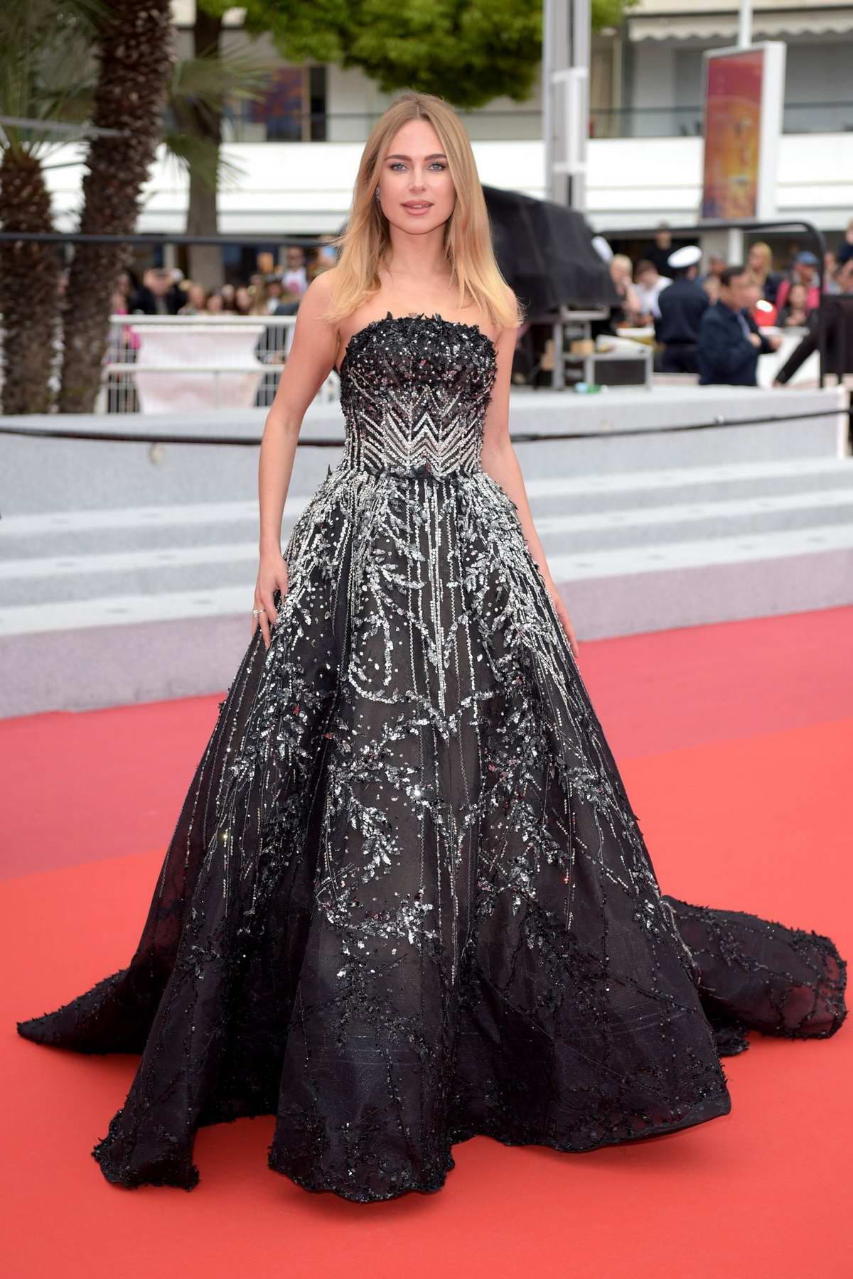 Kimberley Garner attends the screening of 'It Must Be Heaven' during the 72nd annual Cannes Film Festival in Cannes, France