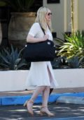 Kirsten Dunst takes her mother for lunch on Mother's Day at Santuari restaurant in Los Angeles