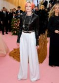 Kristen Stewart attends The 2019 Met Gala Celebrating Camp: Notes on Fashion in New York City