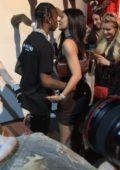 Kylie Jenner celebrates Travis Scott's birthday at Universal Studios in Los Angeles