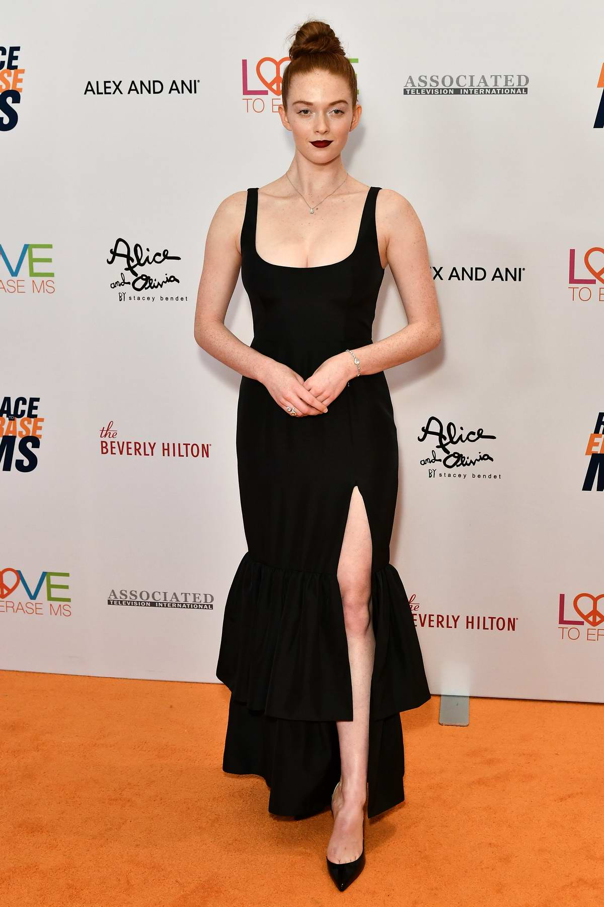 Larsen Thompson attends the 26th Annual Race to Erase MS GALA held at the Beverly Hilton Hotel in Beverly Hills, Los Angeles