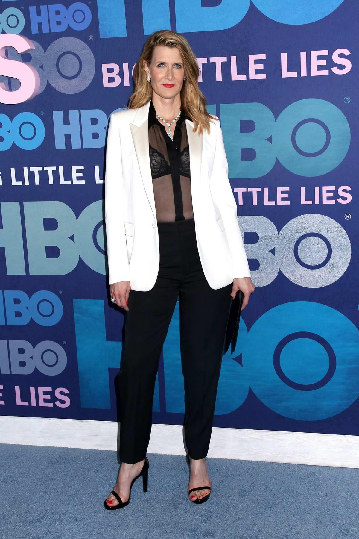 Laura Dern attends the Premiere of 'Big Little Lies' Season 2 in New York City