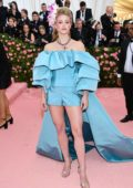 Lili Reinhart attends The 2019 Met Gala Celebrating Camp: Notes on Fashion in New York City