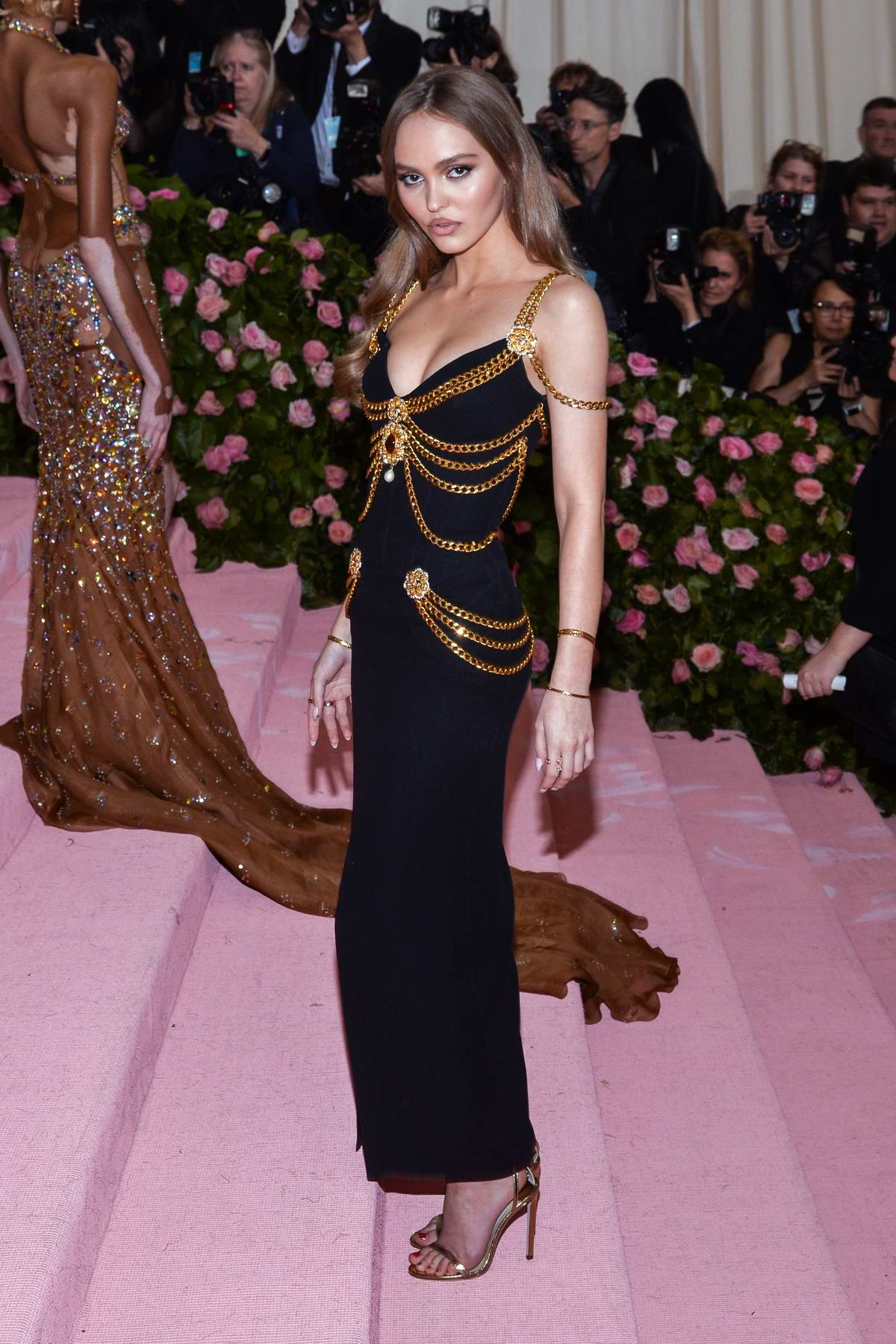 lily-rose depp attends the 2019 met gala celebrating camp ...