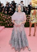 Lucy Boynton attends The 2019 Met Gala Celebrating Camp: Notes on Fashion in New York City
