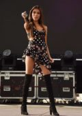 Madison Beer performs at the BottleRock Valley Music Festival - Day 2 in Napa, California