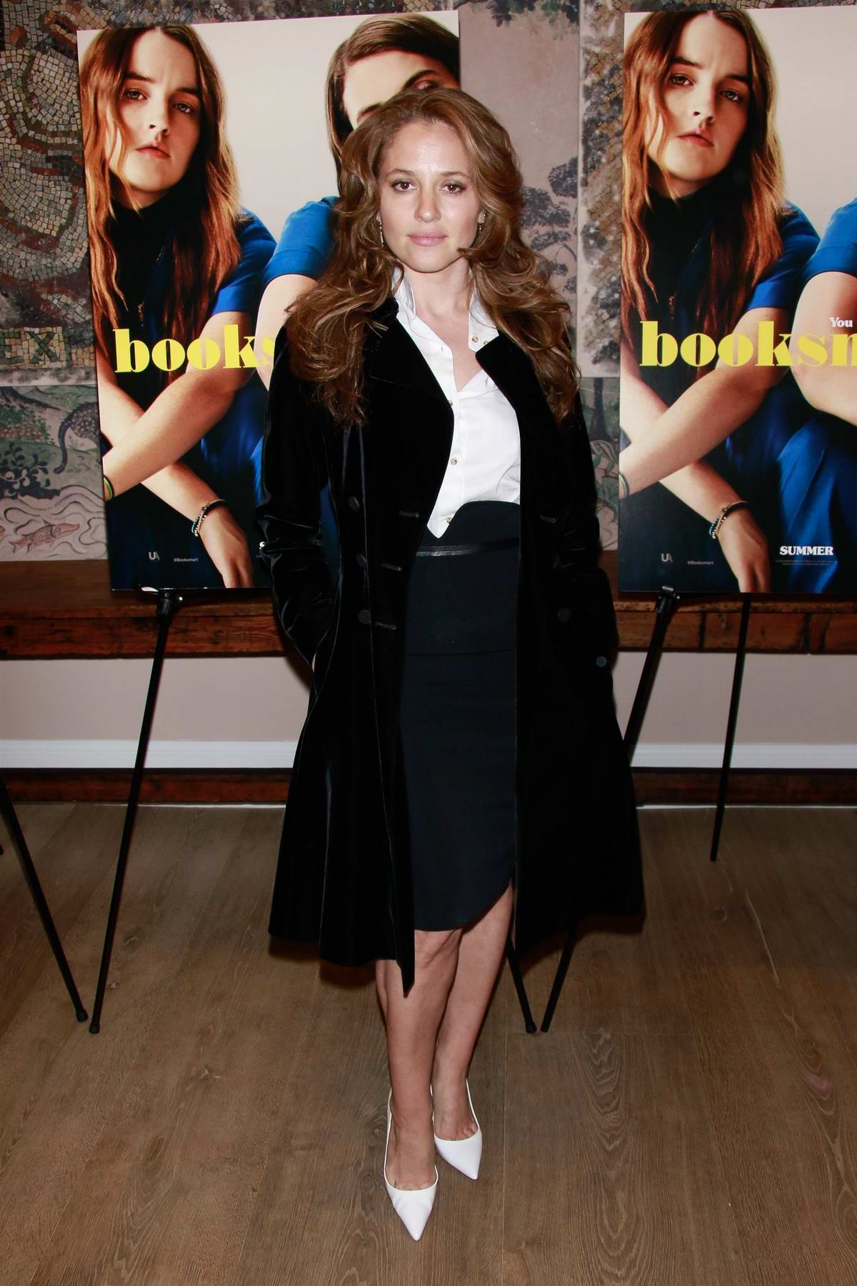 Margarita Levieva attends the special screening of 'Booksmart' in New York City