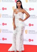 Maya Jama attends the 2019 British Academy Television Awards at Royal Festival Hall in London, UK