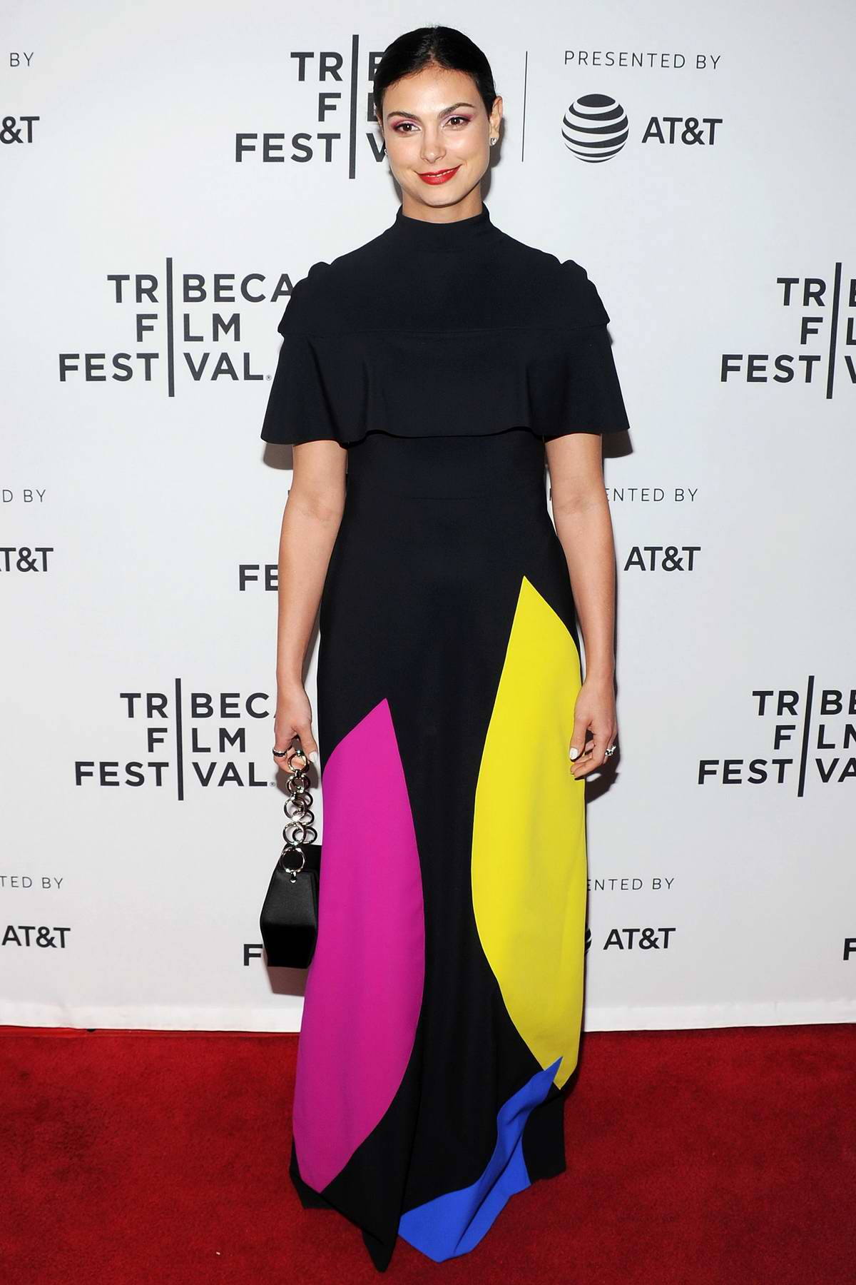 Morena Baccarin attends the screening of 'Framing John DeLorean' during the 2019 Tribeca Film Festival in New York City