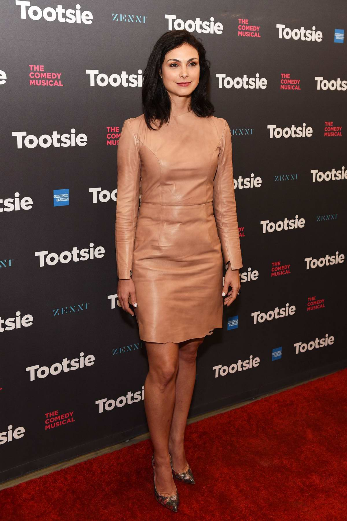 Morena Baccarin attends 'Tootsie' Broadway play opening night at Marquis Theater in New York City