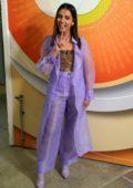 Naomi Scott promotes her new movie 'Aladdin' at Despierta America at Univision Studios in Miami, Florida