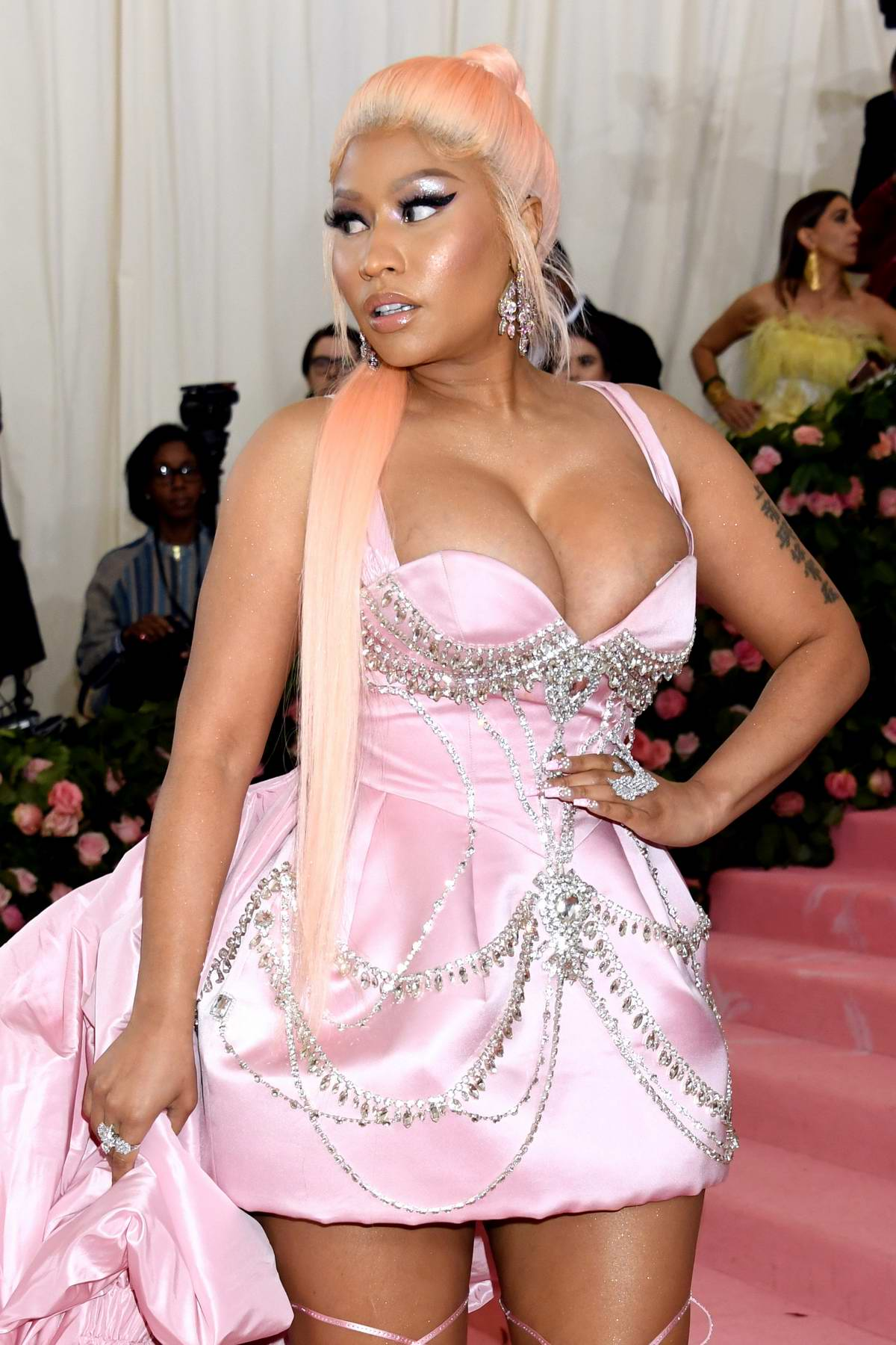 Nicki Minaj attends The 2019 Met Gala Celebrating Camp: Notes on Fashion in New York City
