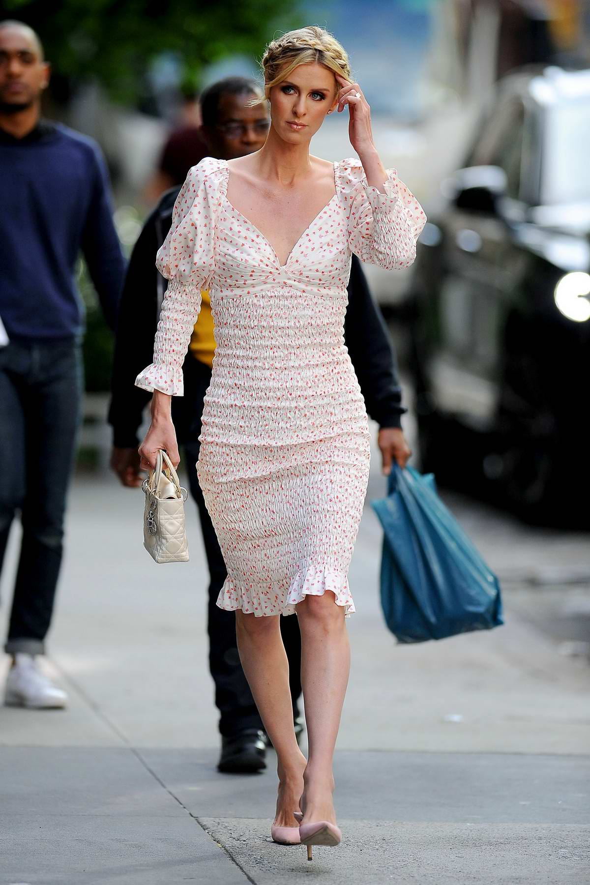 Nicky Hilton looks lovely as she heads to the Animal Haven Benefit in New York City