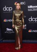 Olivia Wilde attends the 2019 Billboard Music Awards at MGM Grand Garden Arena in Las Vegas, Nevada