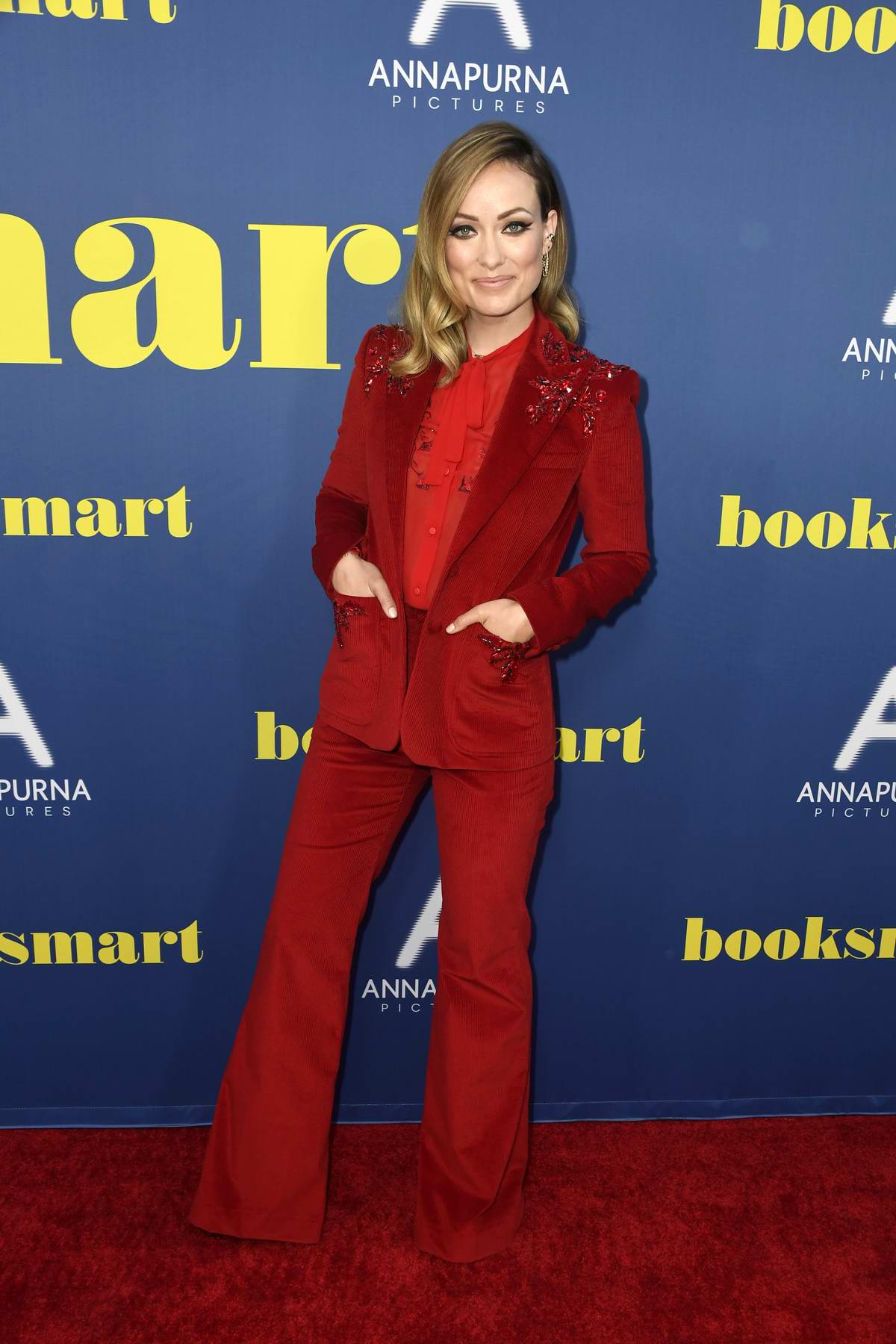 Olivia Wilde attends the special screening of 'Booksmart' at Ace Hotel in Los Angeles