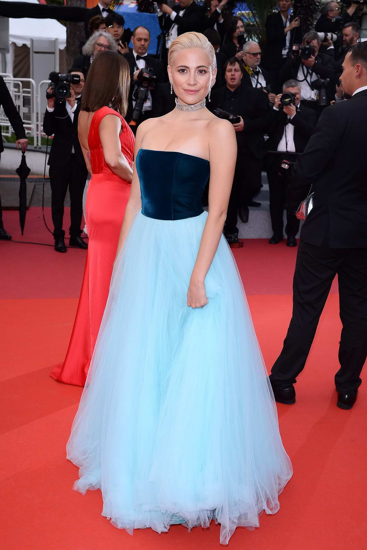 Pixie Lott attends the screening of 'La Belle Epoque' during the 72nd annual Cannes Film Festival in Cannes, France
