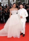 Priyanka Chopra and Joe Jonas attend the screening of 'Les Plus Belles Annees D'Une Vie' during the 72nd annual Cannes Film Festival in Cannes, France