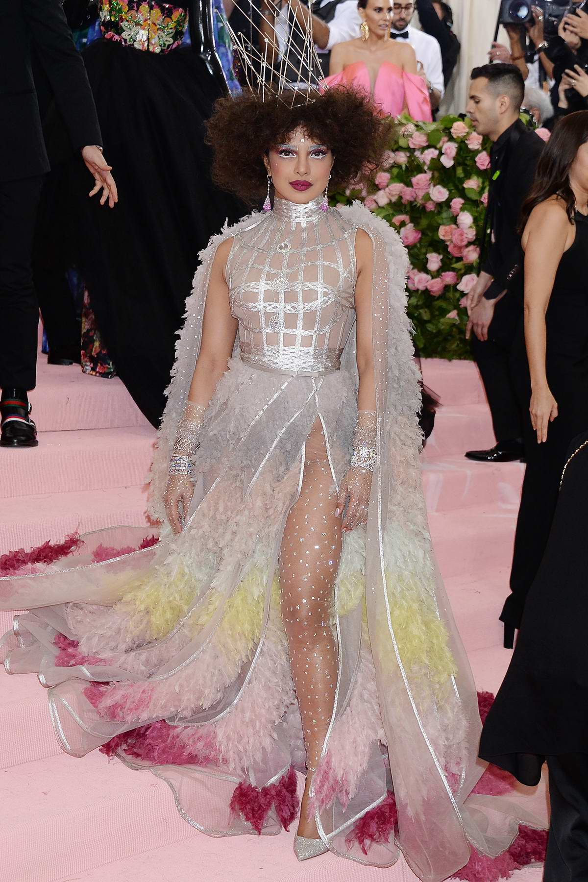 Priyanka Chopra attends The 2019 Met Gala Celebrating Camp: Notes on Fashion in New York City