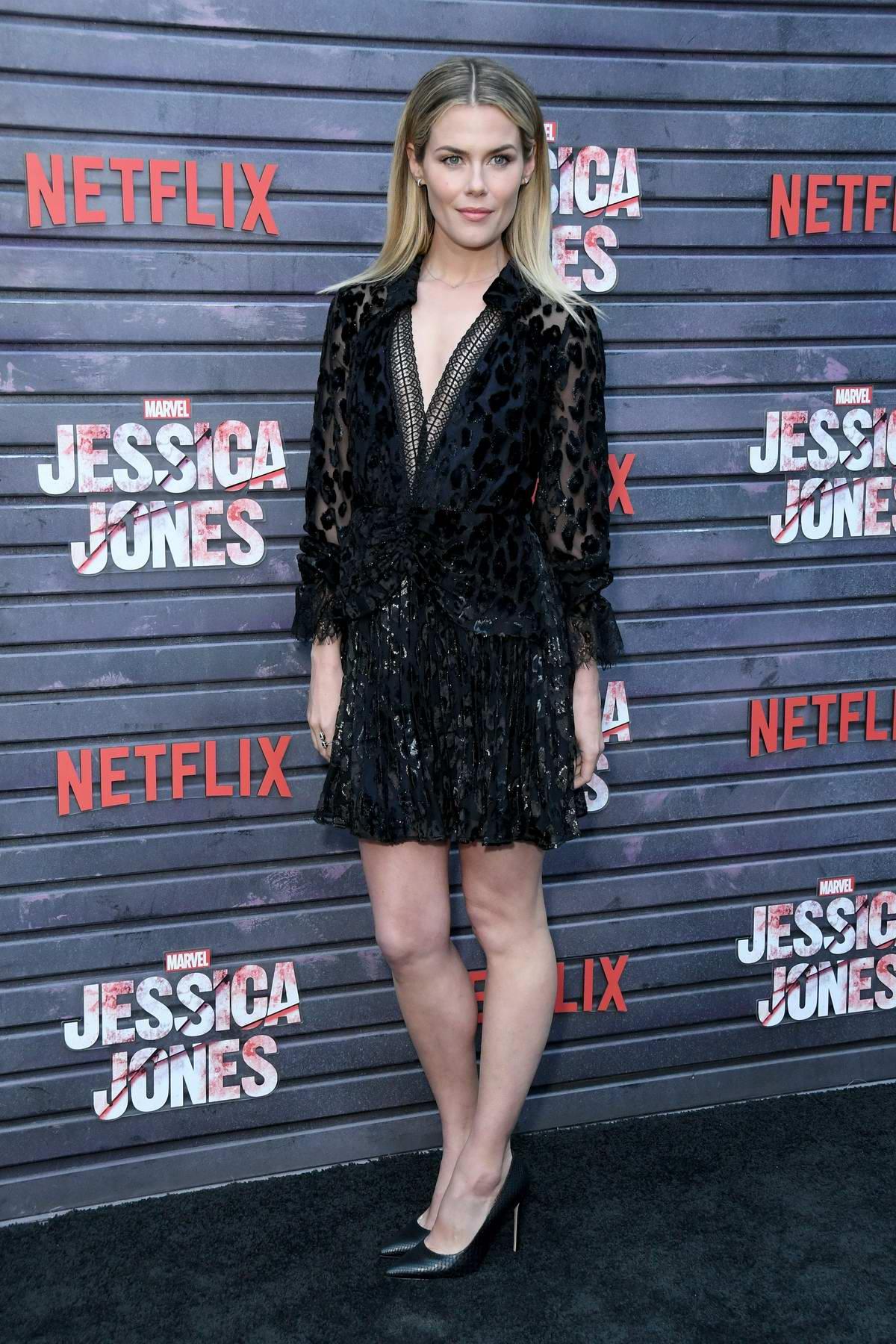 Rachael Taylor attends the Special Screening of Netflix's 'Jessica Jones' Season 3 held at Arclight Hollywood, California