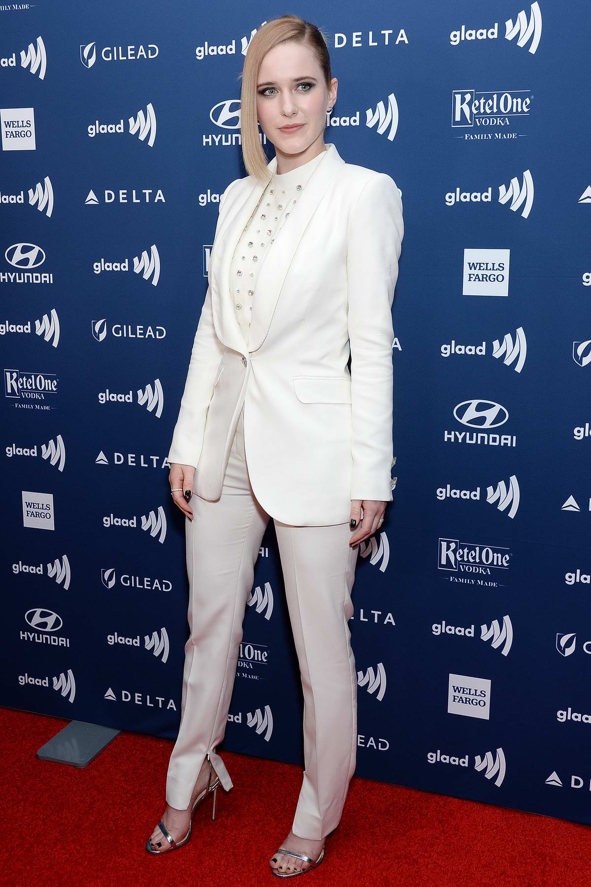 Rachel Brosnahan attends the 30th Annual GLAAD Media Awards in New York City