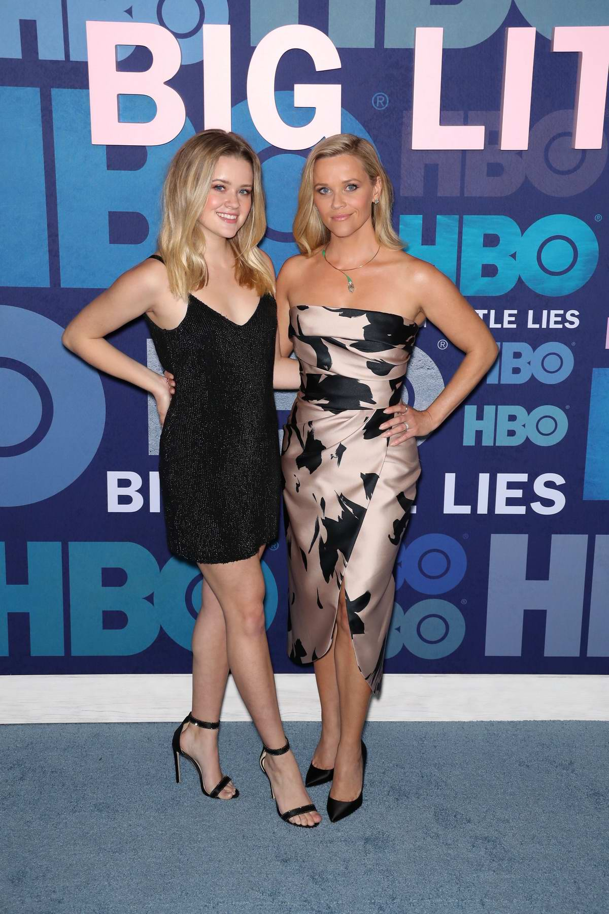 Reese Witherspoon and Ava Phillippe attend the Premiere of 'Big Little Lies' Season 2 in New York City