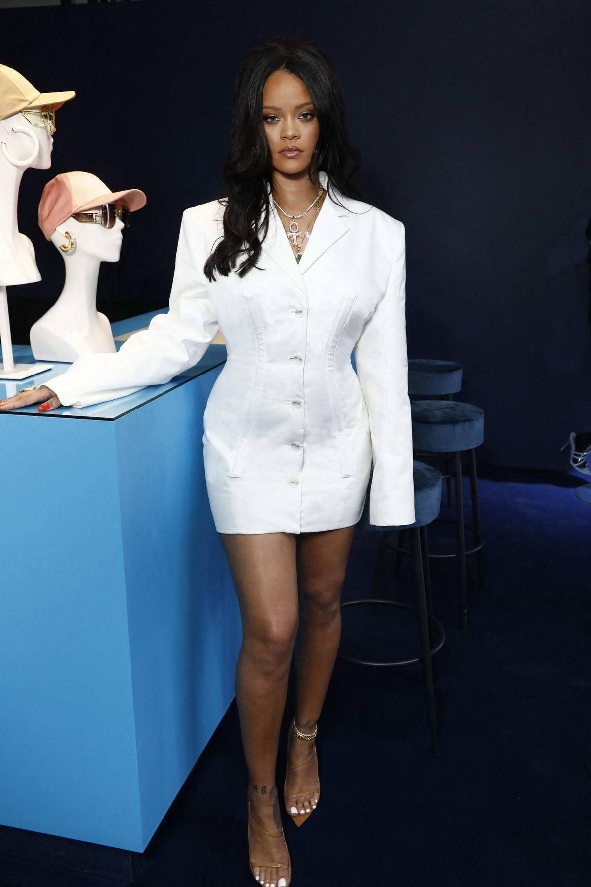 Rihanna hosts Fenty Beauty Luxury Pop up Launch in Paris, France