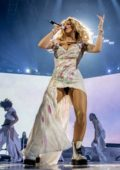 Rita Ora performs live at the Bournemouth International Centre in Bournemouth, UK