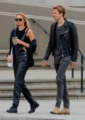 Romee Strijd keeps it stylish in all black while out shopping in Beverly Hills, Los Angeles