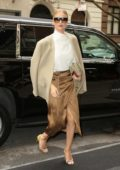 Rosie Huntington-Whiteley looks super chic as she steps out in New York City
