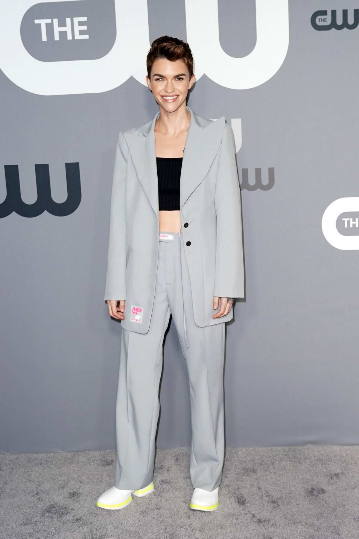 Ruby Rose attends The CW Network 2019 Upfronts in New York City