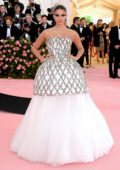 Sara Sampaio attends The 2019 Met Gala Celebrating Camp: Notes on Fashion in New York City