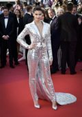 Sara Sampaio attends the screening of 'Rocketman' during the 72nd annual Cannes Film Festival in Cannes, France
