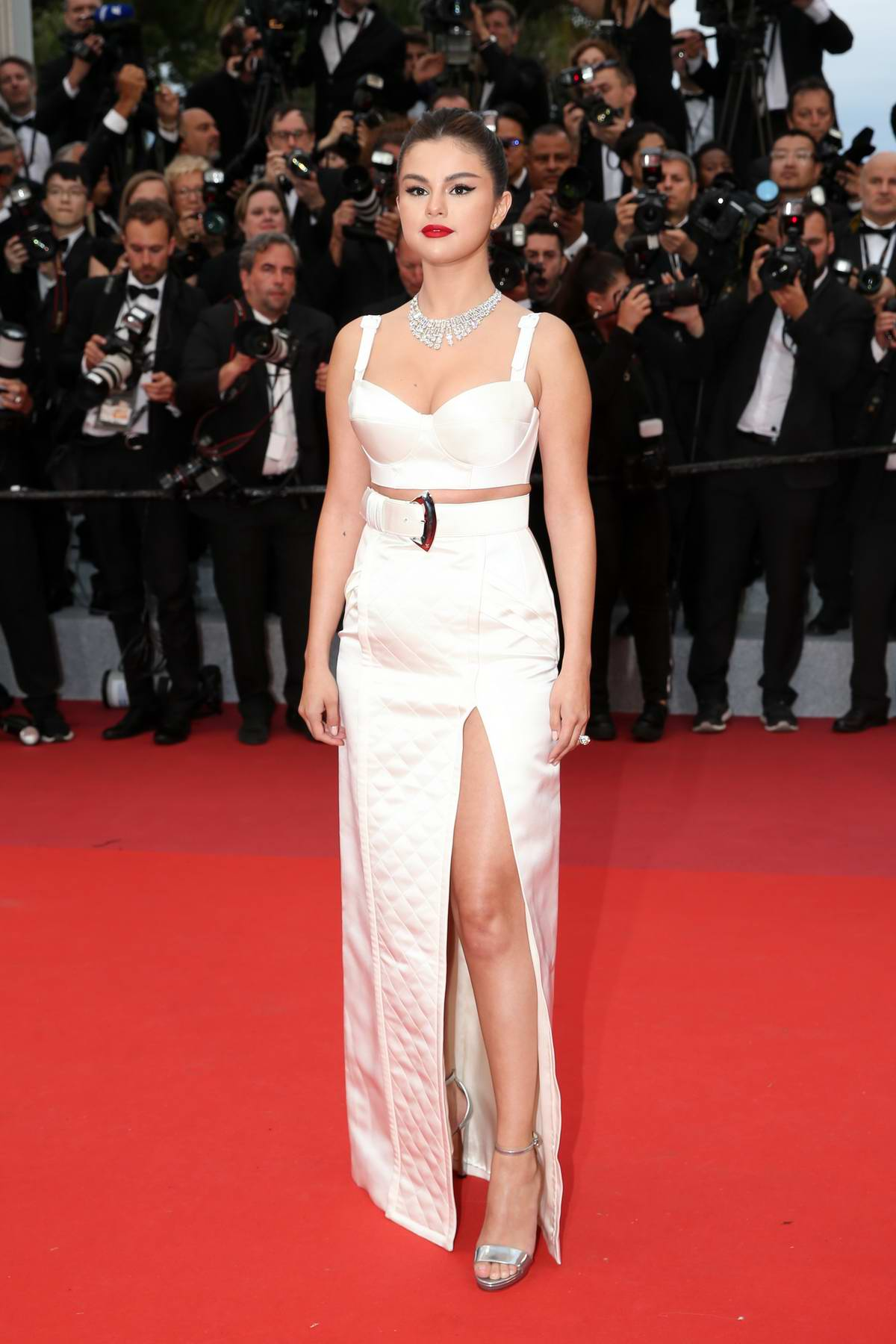 Selena Gomez attends 'The Dead Don't Die' Premiere during The 72nd annual Cannes Film Festival in Cannes, France