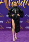 Shanina Shaik attends the World Premiere of Disney's 'Aladdin' at the El Capitan Theater in Hollywood, California