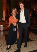 Sienna Miller and Lucas Zwirner double date with Lucas' parents in Venice, Italy